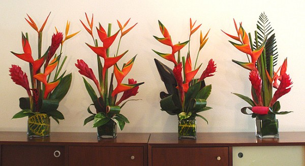 tropical flower arrangements brevard county indian river vero melbourne florida